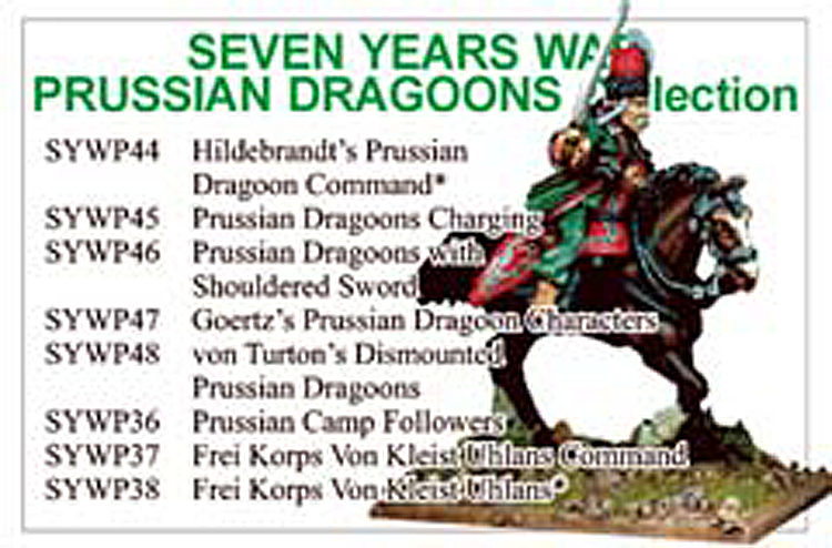 BCSYW011 - Seven Years War Prussian Dragoons Collection