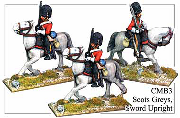 CMB003 Scots Greys, Sword Upright