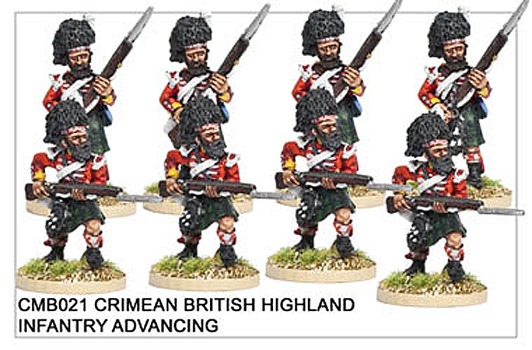 CMB021 Highland Infantry Advancing