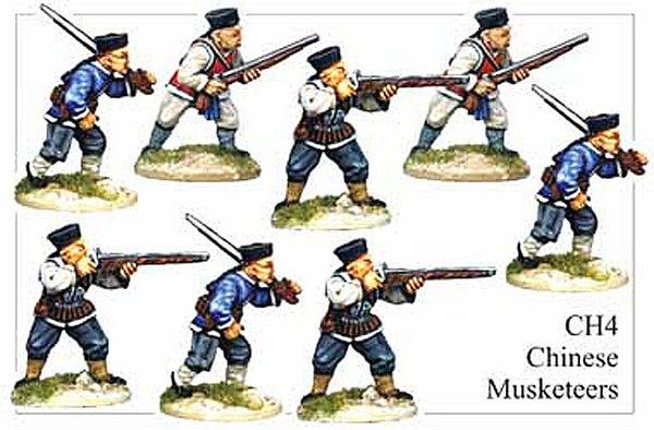 CH004 Chinese Musketeers