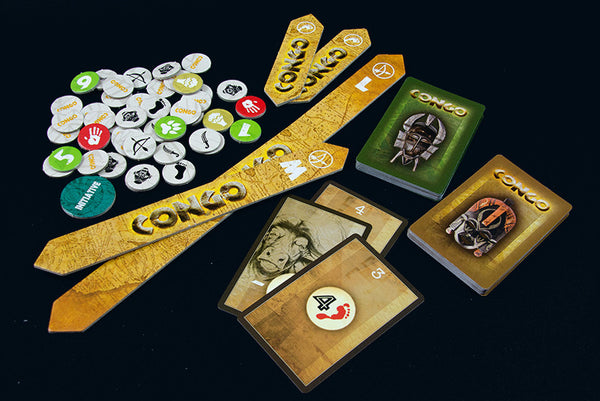CONGO BUNDLE 3 - All four factions, the Adventure Pack and the Rulebook (15% off and free shipping)