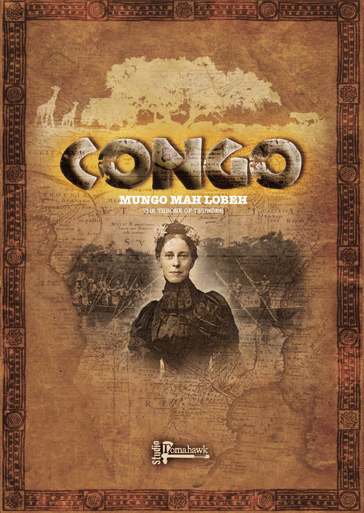 Congo Mary: The Throne Of Thunder NOW SHIPPING