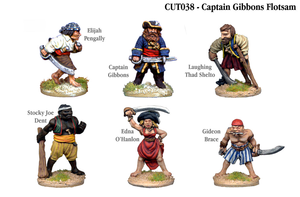 CUT038 - Captain Gibbons Flotsam