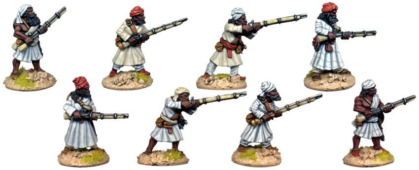 DA056 - The other Indian Baluchi Matchlockmen