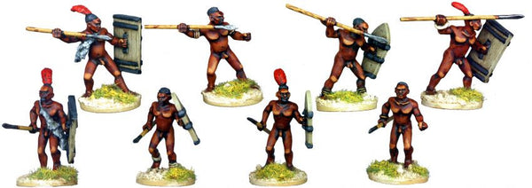 DA073 - Bollock Naked Tribal Spearmen