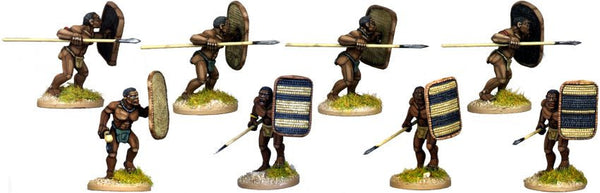 DA081 - African Tribal Warriors 2