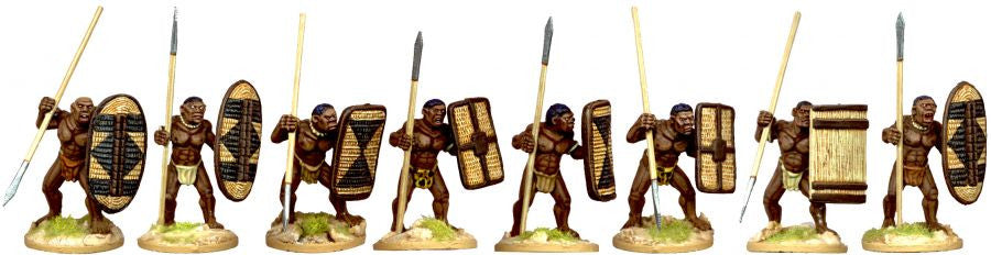 DA083 - African Tribal Warriors 4