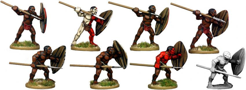 DA088 - African Tribal Warriors 1