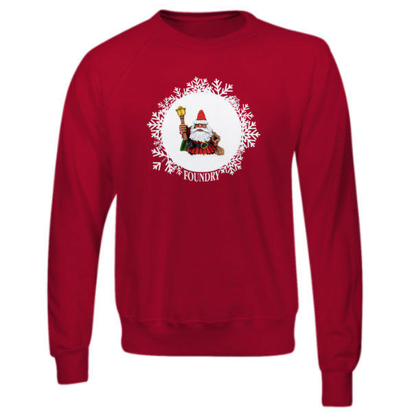 Jolly Dwarf Santa Sweatshirt - Red