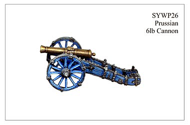 SYWP026 - Prussian Medium Cannon