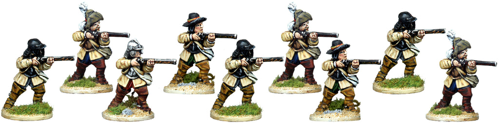 ECW040 - Dismounted Cavalry With Carbines