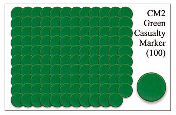 CM002 - Green Casualty Markers