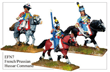 EFN007 French or Prussian Hussars Command