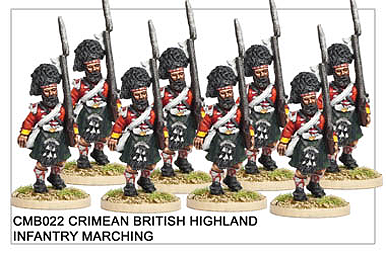 CMB022 Highland Infantry Marching