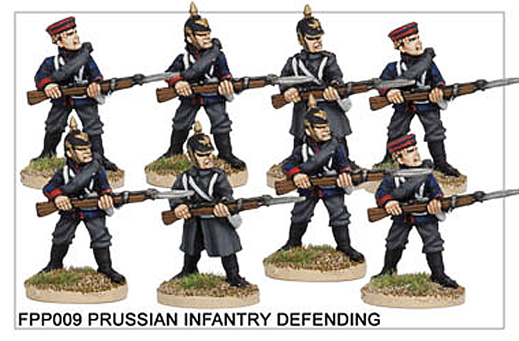 FPP009 Prussian Infantry Defending