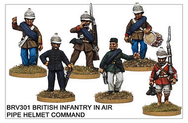 BRV301 British Infantry Command