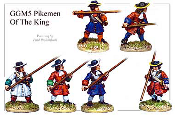 GGM005 - Pikemen of the King