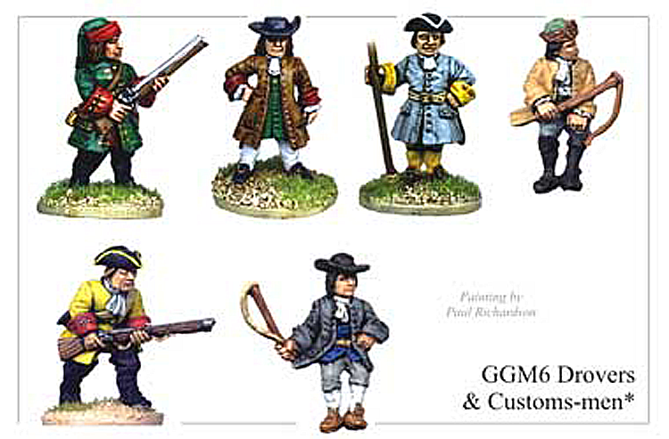 GGM006 - Drovers and Customs Men
