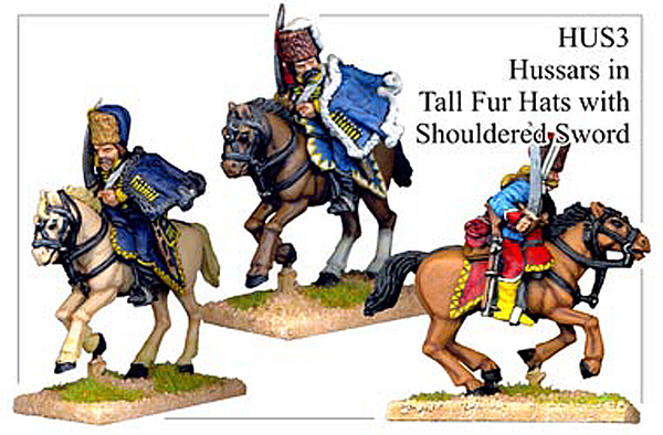 HUS003 - Hussars In Tall Fur Hats