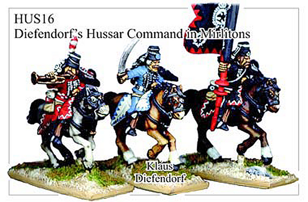 HUS016 - Hussars In Mirliton Command