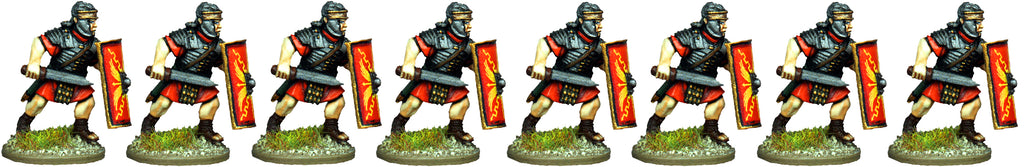 IR046 - Legionaries, Segmented Armour, Advancing with Gladius