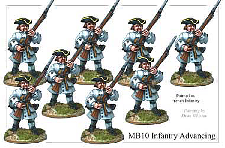 MB010 - Infantry Advancing