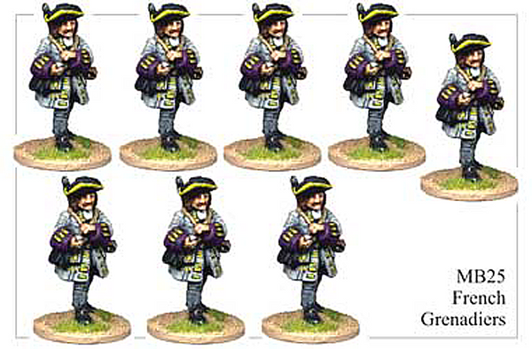 MB025 - French Grenadiers