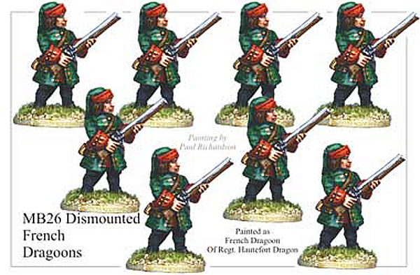 MB026 - French Dismounted Dragoons