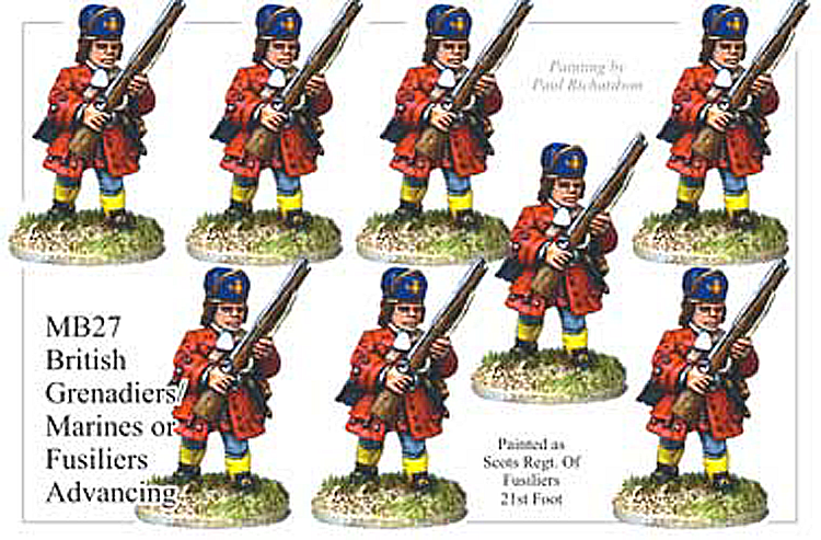 MB027 - British Marine Or Fusiliers