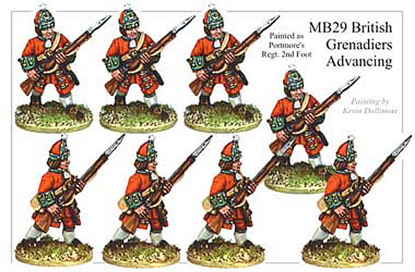 MB029 - British Grenadier Advancing