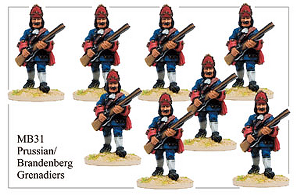 MB031 - Prussian Grenadiers Advancing