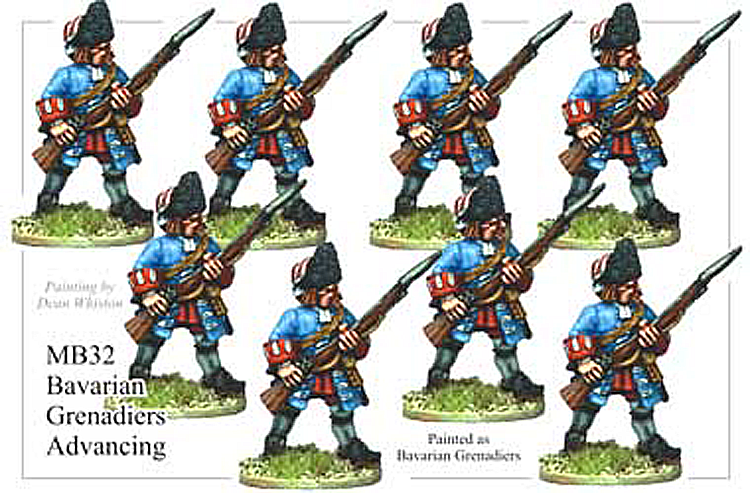 MB032 - Bavarian Grenadier Advancing
