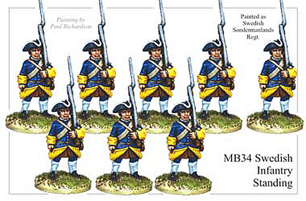 MB034 - Swedish Infantry Standing