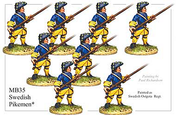 MB035 - Swedish Pikemen