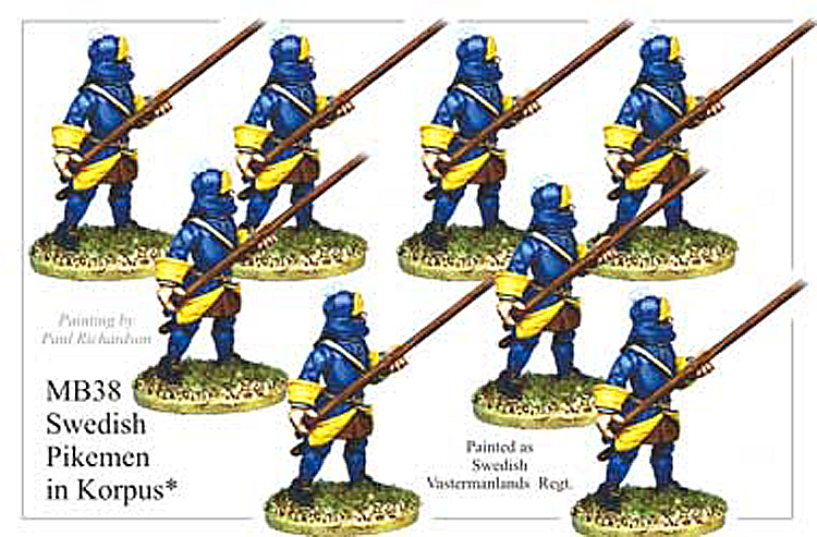MB038 - Swedish Pikemen In Korpus