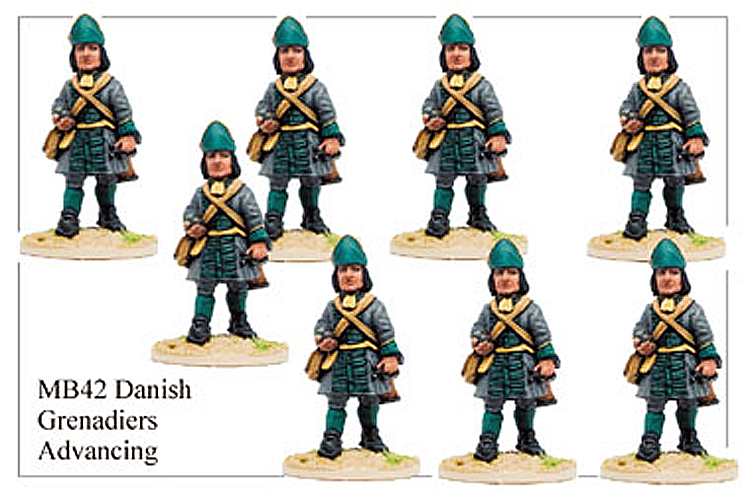 MB042 - Danish Infantry Grenadier Marching