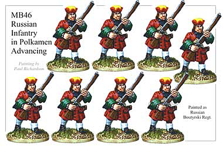 MB046 - Russian Infantry In Polkamen