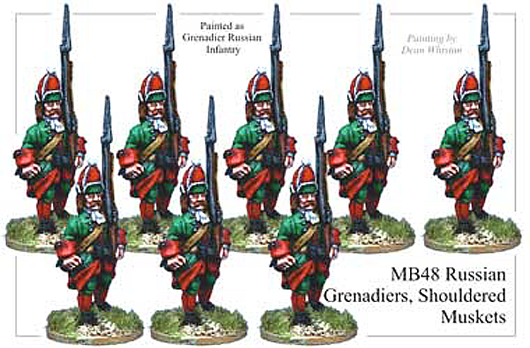 MB048 - Russian Infantry Grenadiers