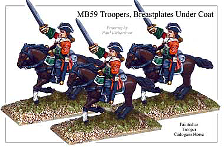 MB059 - Cavalry Troopers Breastplate Under Coat