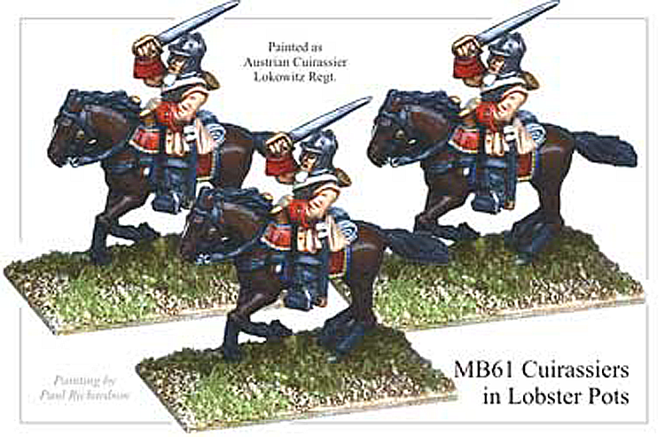 MB061 - Cuirassier In Lobster Pots