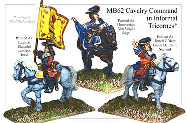 MB062 - Cavalry In Informal Tricorn Command