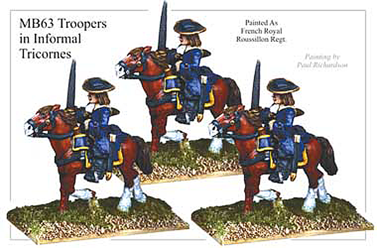 MB063 - Cavalry Trooper In Informal Tricorn