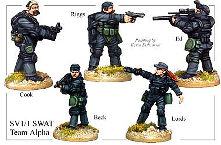 SV011 - Swat Team Alpha