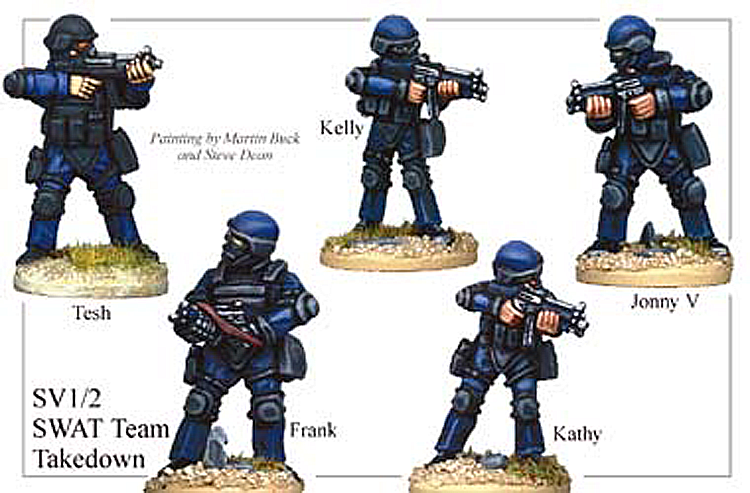 SV012 - Swat Team Takedown