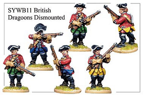SYWB011 - British Dismounted Dragoons