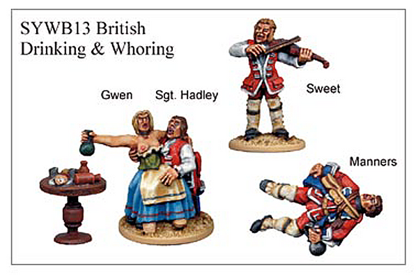 SYWB013 - British Grenadiers Wenching