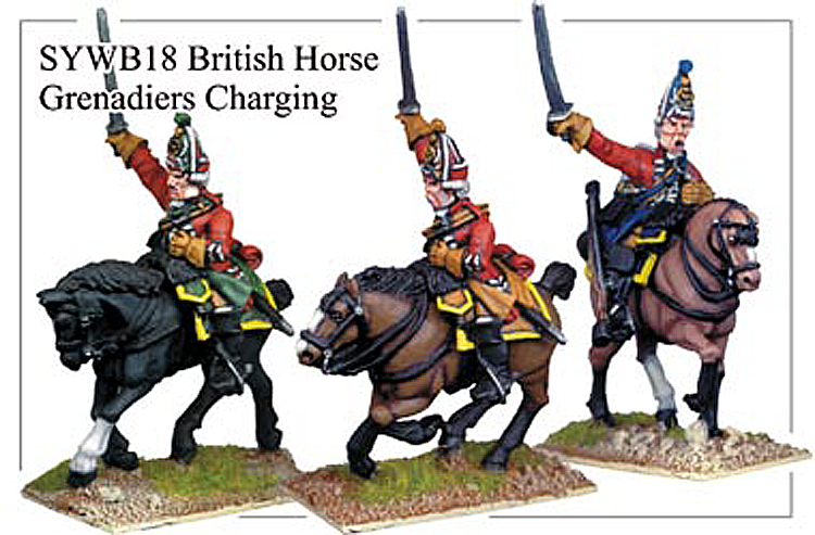 SYWB018 - British Horse Grenadier Charging