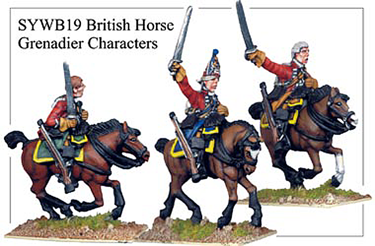 SYWB019 - British Horse Grenadier Characters