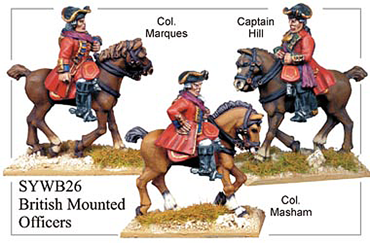 SYWB026 - British Mounted Officers