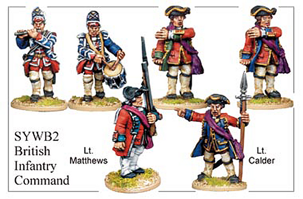 SYWB002 - British Infantry Command